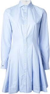 ralph lauren light blue polo ralph lauren flared shirt dress where to buy how to wear