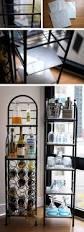 Wine Bar Decorating Ideas Home 120 Best Bakers Rack Decor Images On Pinterest Bakers Rack