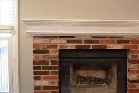 red brick fireplace mantel ideas cpmpublishingcom