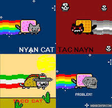 Nyan Cat Meme - nyan cats by inkogni meme center