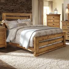 Bedroom Furniture Stores Austin Tx by Progressive Furniture Willow King Slat Bed With Distressed Pine