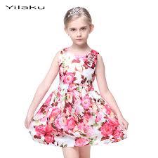 costume wedding dresses shop floral print dress 2017 summer sleeveless