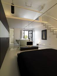 Loft Bedroom Ideas Minimalist Loft Prepossessing Decoration Paint Color By Minimalist