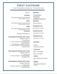 does word a resume template free cv templates 275 to 281 free cv template dot org