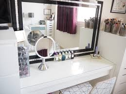 my make up storage vanity bedroom tour expat make up addict