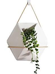 modern hanging planters hanging planters amazon com