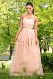 inpuff rochii rochie princess piersicuta cu broderie inpuff ro dresses