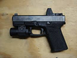 glock 19 laser light combo perfect setup for home defense glock 19 burris fasfireiii red dot