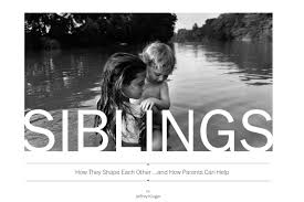 siblings how parents can help them get on