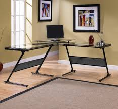 Glass L Shaped Desk Z Line Computer Desk 116 Awesome Exterior With Amazoncom Z Line In
