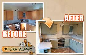 respray kitchen cabinets respraying kitchen cabinets modern on kitchen with regard to 5