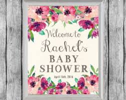 baby shower poster baby shower poster etsy
