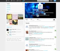 layout of twitter page how to convert to the new twitter layout polka dot impressions