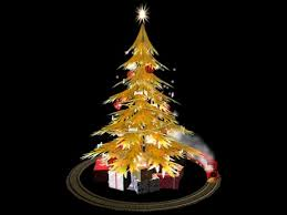second marketplace small decorated tree with