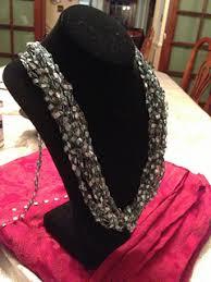 trellis ladder yarn necklace instructions ravelry easy ladder yarn necklace pattern by joy povich