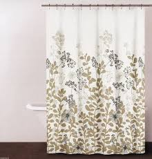 Geometric Burnout Shower Curtain Tan Glamorous Tan And Gray Shower Curtain Gallery Best Idea Home
