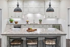 antique white kitchen cabinets with subway tile backsplash antique white elongated hexagon ceramic tile kitchen