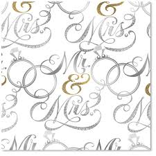 wedding wrapping paper mr mrs wedding wrapping paper roll wrapping paper hallmark