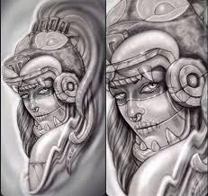 aztec tattoo design art idea u2026 pinteres u2026