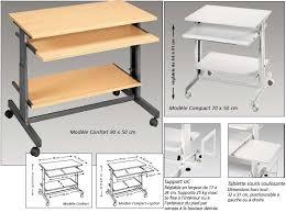 mobilier de bureau informatique meuble 70 cm 11 mobilier informatique meuble bureau informatique