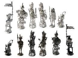 bronze chess set toulhoat ahalife