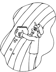 rainbow pot of gold coloring pages rainbow with pot of gold coloring page coloring home