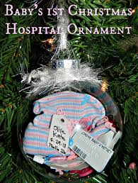 polka dotty place hospital baby ornament
