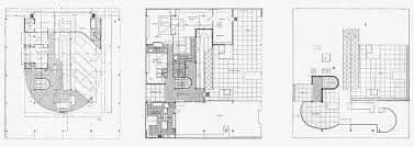 Scaled Floor Plan Le Corbusier Villa Savoye Part 2 Architecture