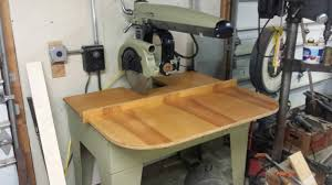 Craftsman Radial Arm Saw Table Radial Arm Saw Trailer Tools U0026 Equipment Contractor Talk