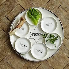 passover plate pickard seder plate williams sonoma