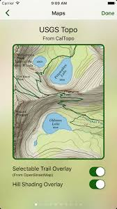 Map Types Topo Maps Works With Many Different Map Types Glacier Peak