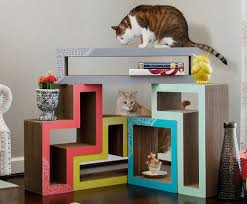 Cool Cat Scratchers Oversized Cathouse U0026 Cat Scratcher Station Lounger Post