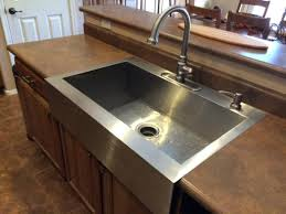 Drop In Farmhouse Kitchen Sink Farmhouse Apron Kitchen Sinks Intunition