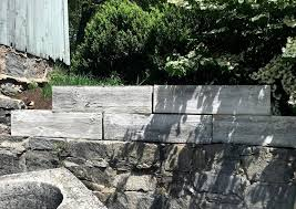 set of five large mid century faux bois concrete planters at 1stdibs