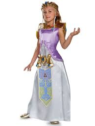 Halloween Costumes Size 10 12 Zelda Deluxe Girls Costume Disguise Child Size 10 12 Ebay
