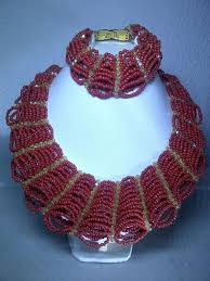 necklace patterns with beads images Bead necklace tutorial st colours a school jpg