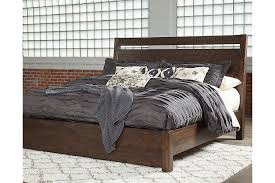 bedroom furniture ashleyb ashley urbane bedroom set starmore queen panel bed ashley furniture homestore