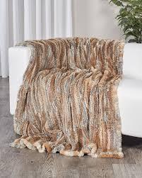 knit home decor real fur home decor holiday gift ideas fursource com