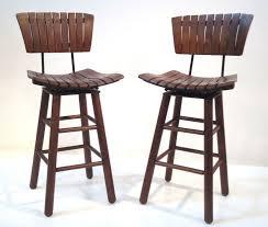 oak wood bar stools stools design inspiring wooden bar stools with backs wooden bar