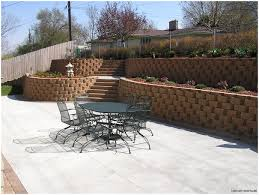 backyards cool peters township retaining walls steps lawn area