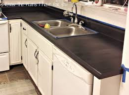 Painting Laminate Countertops Kitchen I Know The Plans I Have For You I U0027ve Painted The Counter Tops