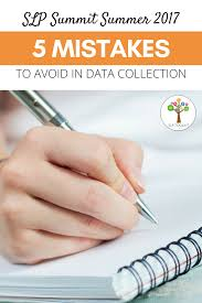 slp summit five mistakes to avoid in data collection q u0026a
