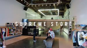 supreme store in los angeles