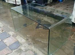 Second Hand Reception Desk by Secondhand Shop Equipment Office Furniture Bent Glass