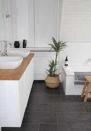 Dark Grey Bathroom 32 Grey Floor Design Ideas That Fit Any Room Digsdigs