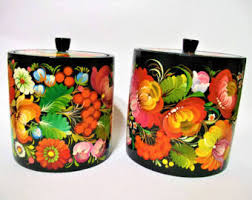 cool kitchen canisters kitchen canisters etsy