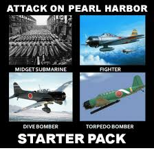 attack on pearl harbor fighter midget submarine dive bomber torpedo