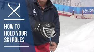 iglu ski expert guides how to hold your ski poles youtube