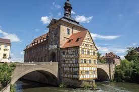 bamberg germany map the town of bamberg germany