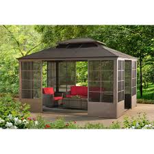 Outdoor Screen House by Conner V2c 12 U0027 X14 U0027 Screen House Gazebo